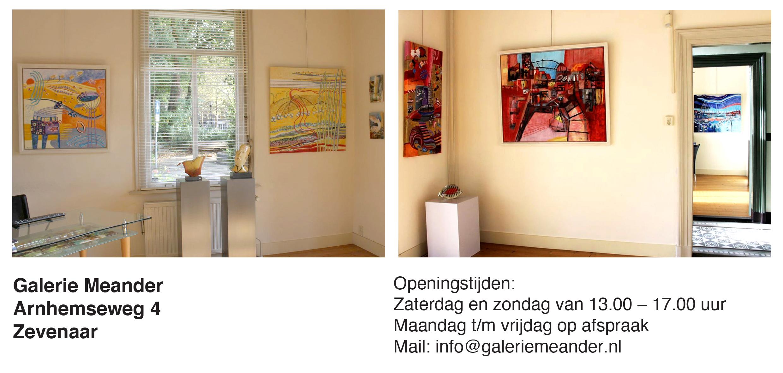 Expositie Galerie Meander Zevenaar